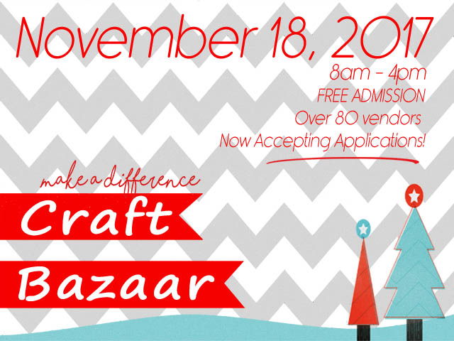 """Make A Difference"" Craft Bazaar"