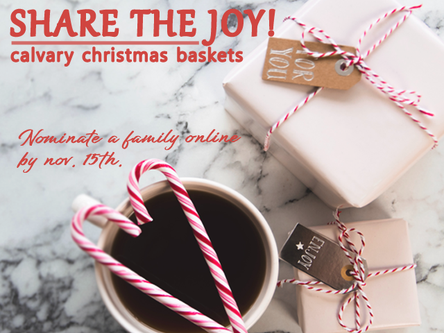 Christmas Basket Gifts Due