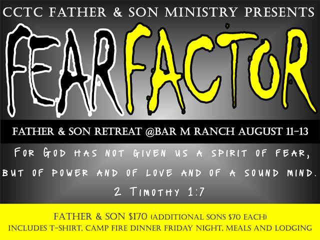"Father & Son ""Fear Factor"" Camp"