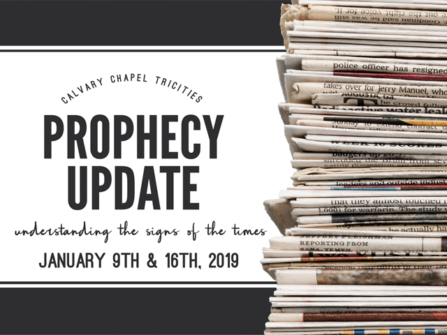 Prophecy Update 2018