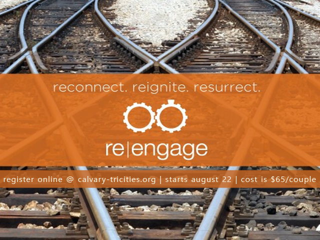 Re Engage Marriage Study to Begin Aug 22