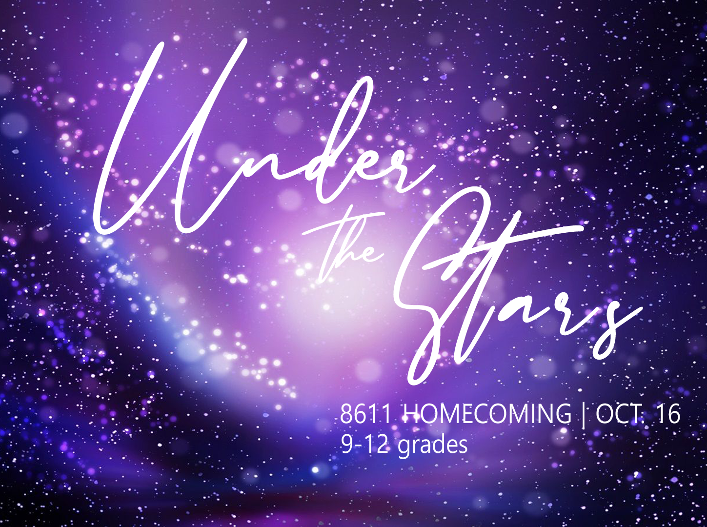 8611 Under the Stars Homecoming