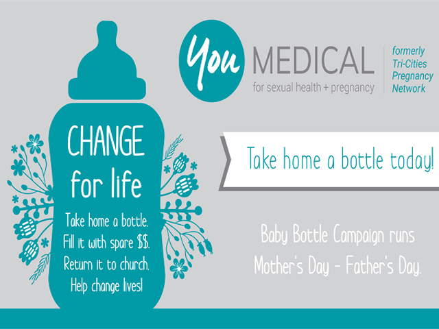 You Medical Baby Bottle Campaign