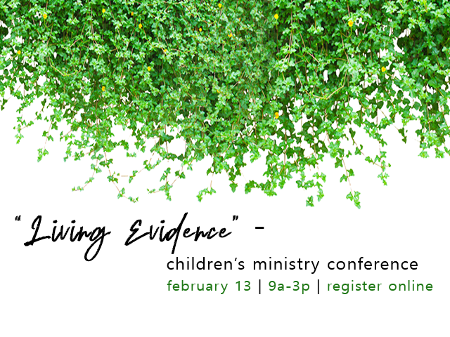 """""""Living Evidence"""" Children's Ministry Conference"""