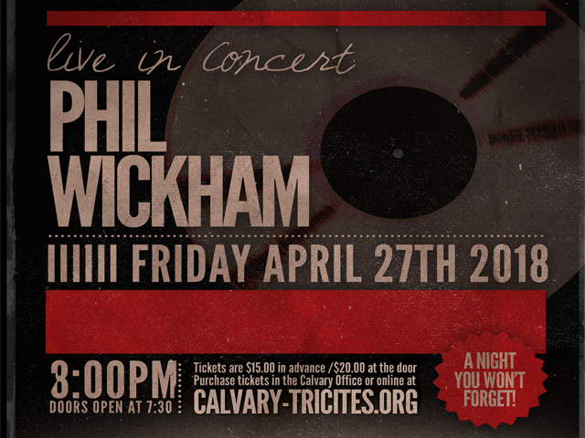 PHIL WICKHAM CONCERT