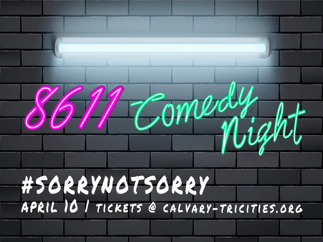 #sorrynotsorry 8611 Comedy Night
