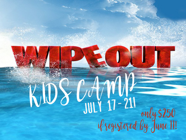 Wipeout Kids Camp